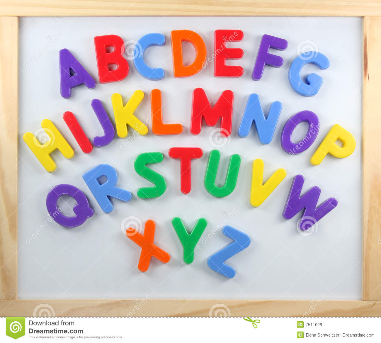 magnetic letters clipart magnet letters on white board