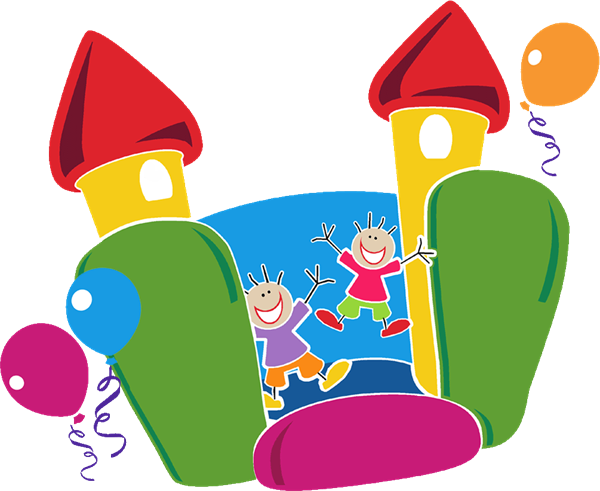 Moon Bounce Clipart   Clipart Best