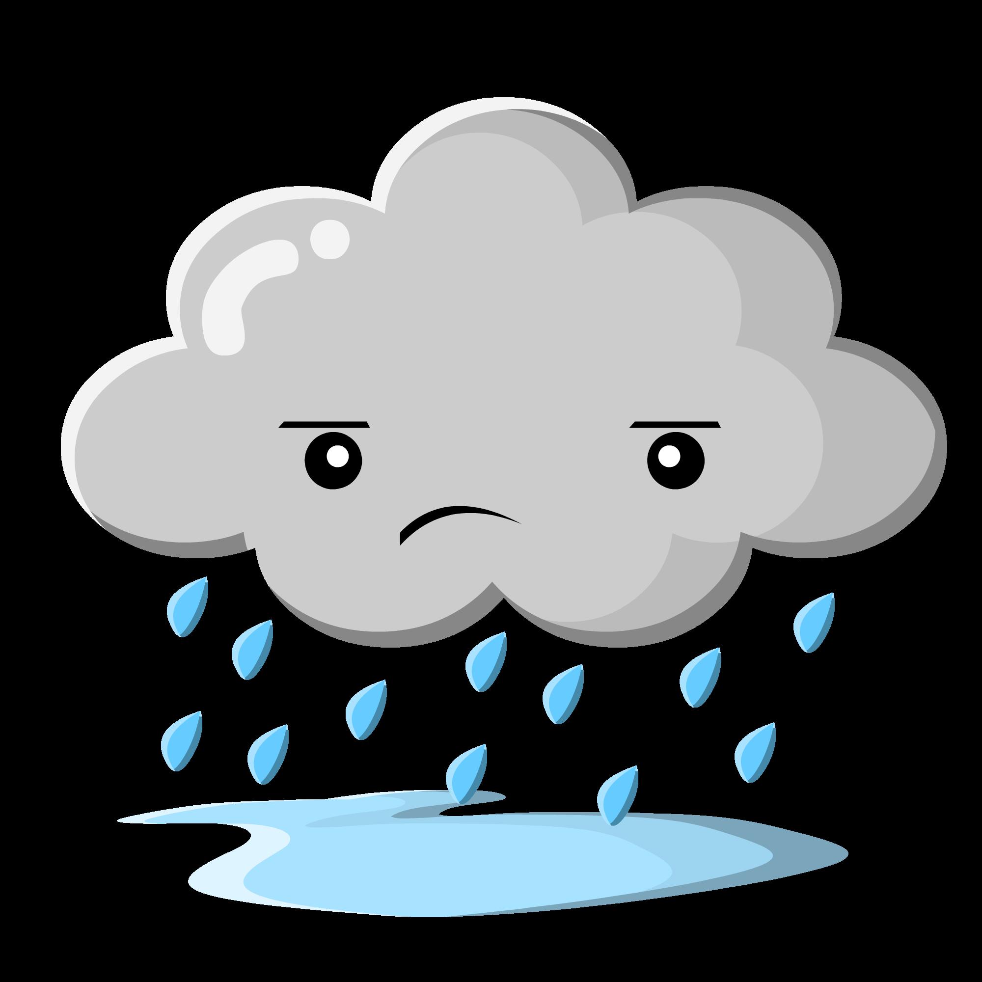 Rain Cartoon Clipart - Clipart Suggest