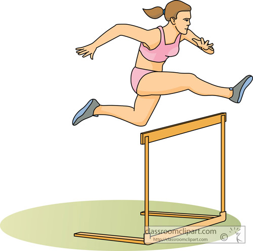 Track And Field Clipart Hurdles Track And Field Clipart
