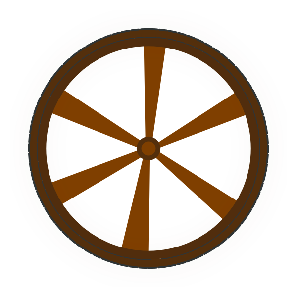 Wagon Wheel Clip Art At Clker Com   Vector Clip Art Online Royalty