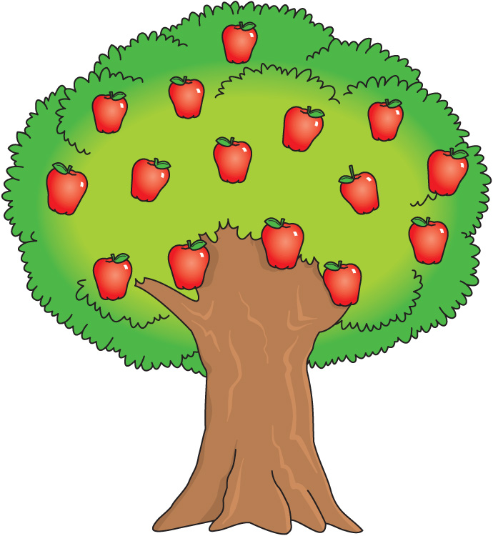 Apple Fell Off Tree Clipart