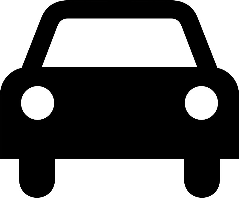 Car Icon By Tagawa   Simple Icon Showing The Front View Of A Car