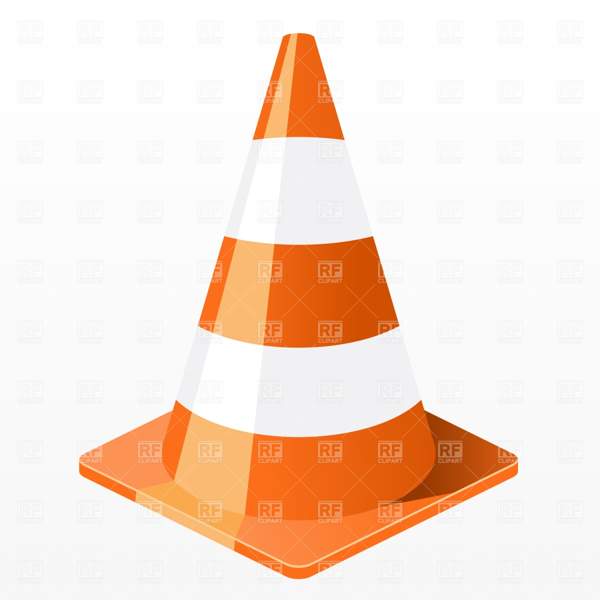 Traffic Cone Clipart - Clipart Kid
