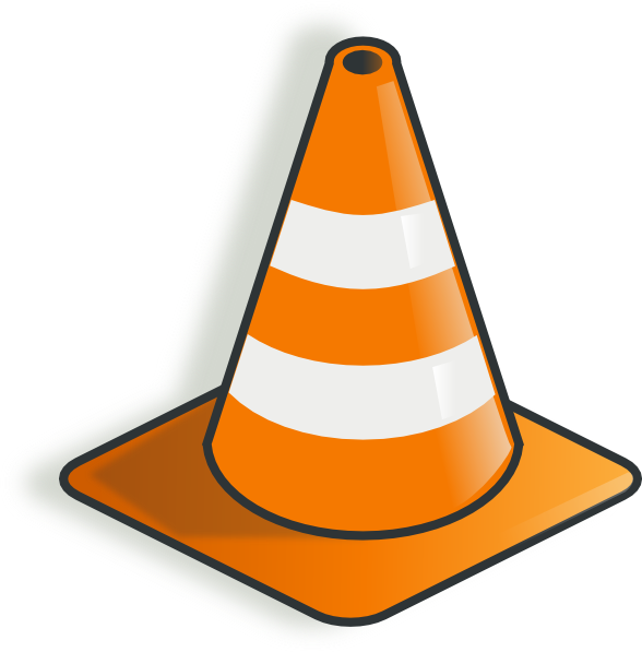 Construction Cone Clip Art At Clker Com   Vector Clip Art Online