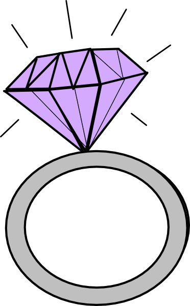 Diamond Ring Clip Art At Clker Com   Vector Clip Art Online Royalty