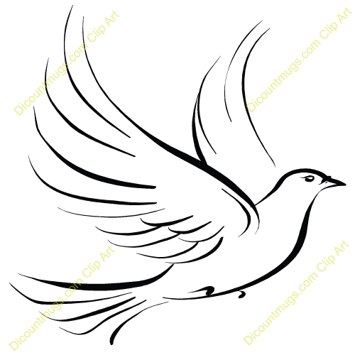 Dove Clip Art   Free Vector Download