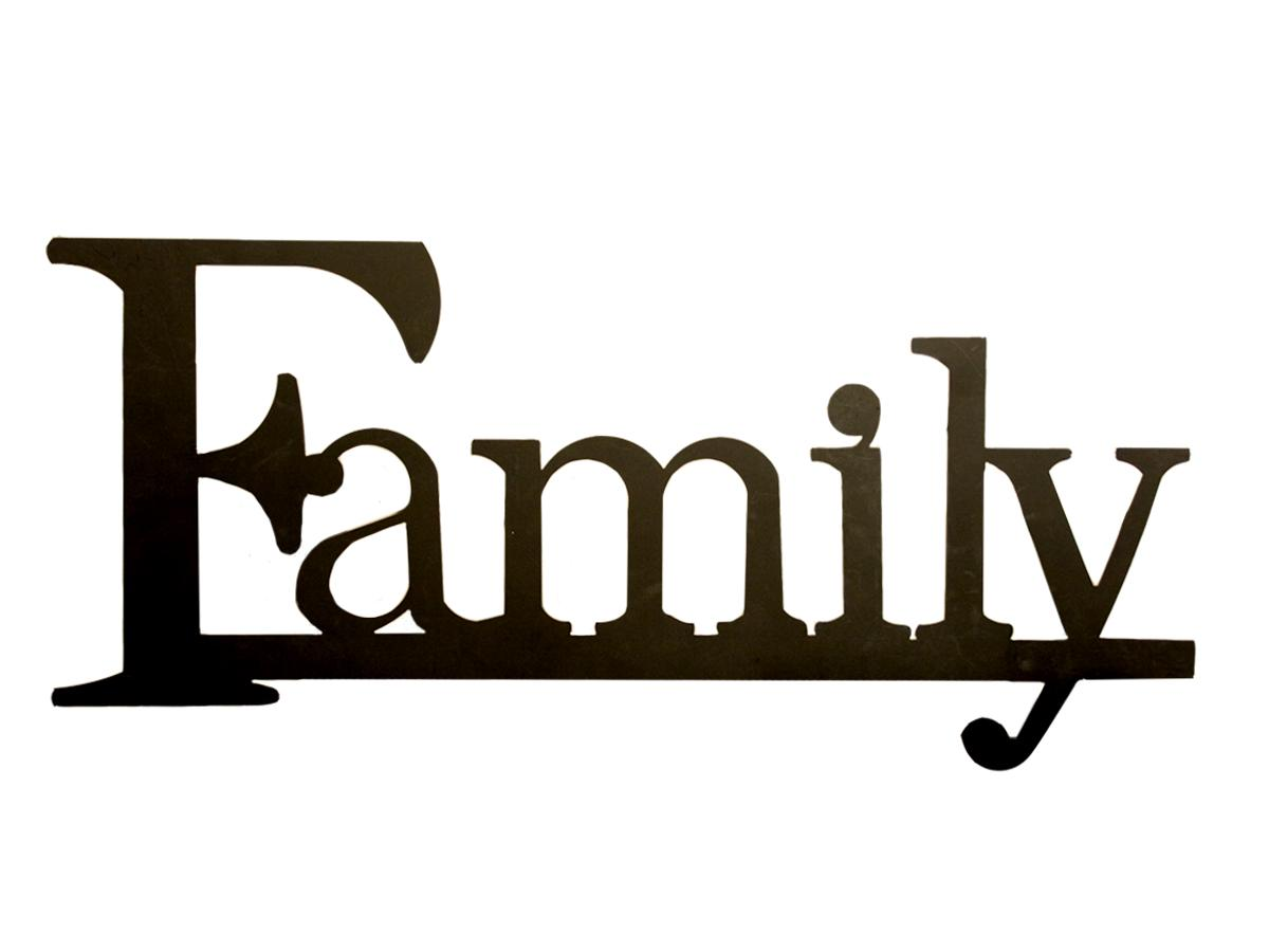 Friends Word Clip Art Family Word Clipart The Word Family Jpg