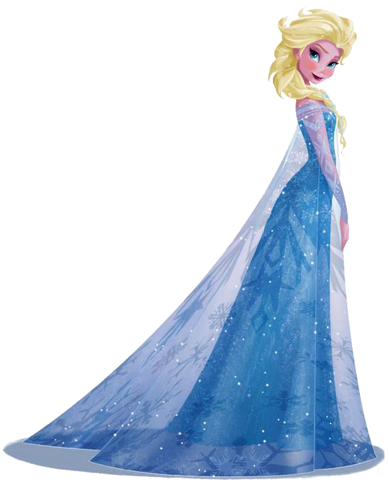 Frozen  Elsa Clip Art    Oh My Fiesta  In English