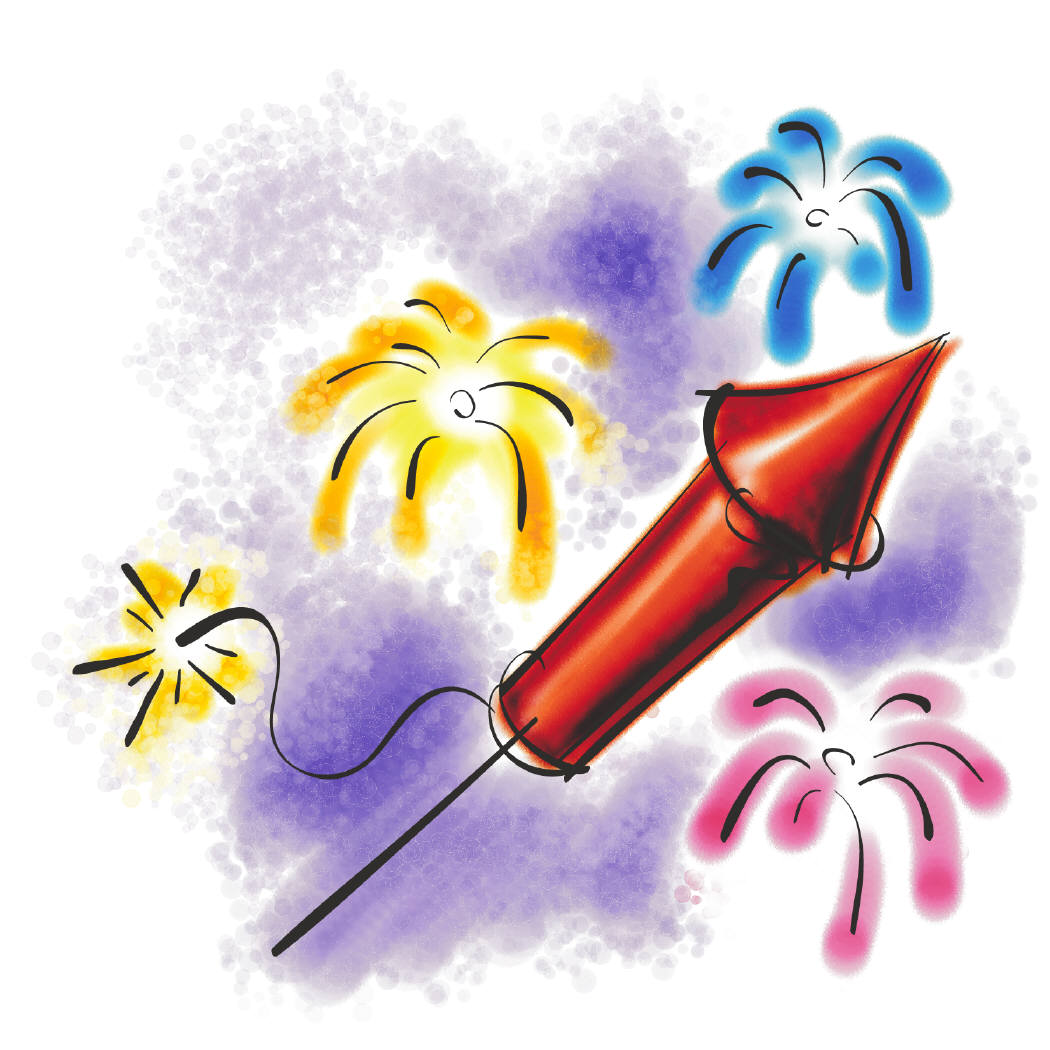 July Clipart   Animated Gifs Exploding Fireworks Funny Firecrackers