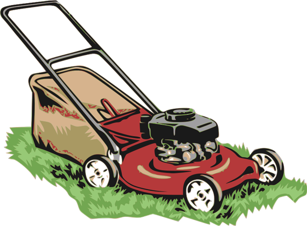 Push Lawn Mower Clip Art