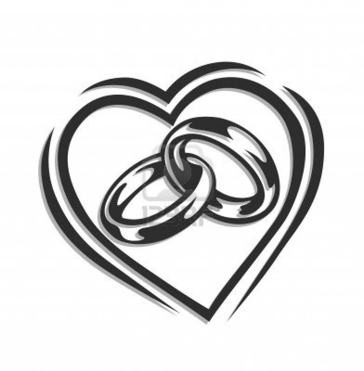 Linked Wedding Rings Clipart Wedding Ring Clipart Jewelry Shopping