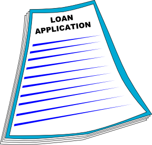 Loan Application Clip Art At Clker Com   Vector Clip Art Online