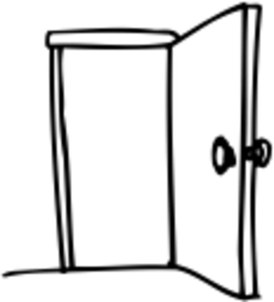 Clip Art Clipart Door open door free clipart kid images at clker com vector clip art online royalty
