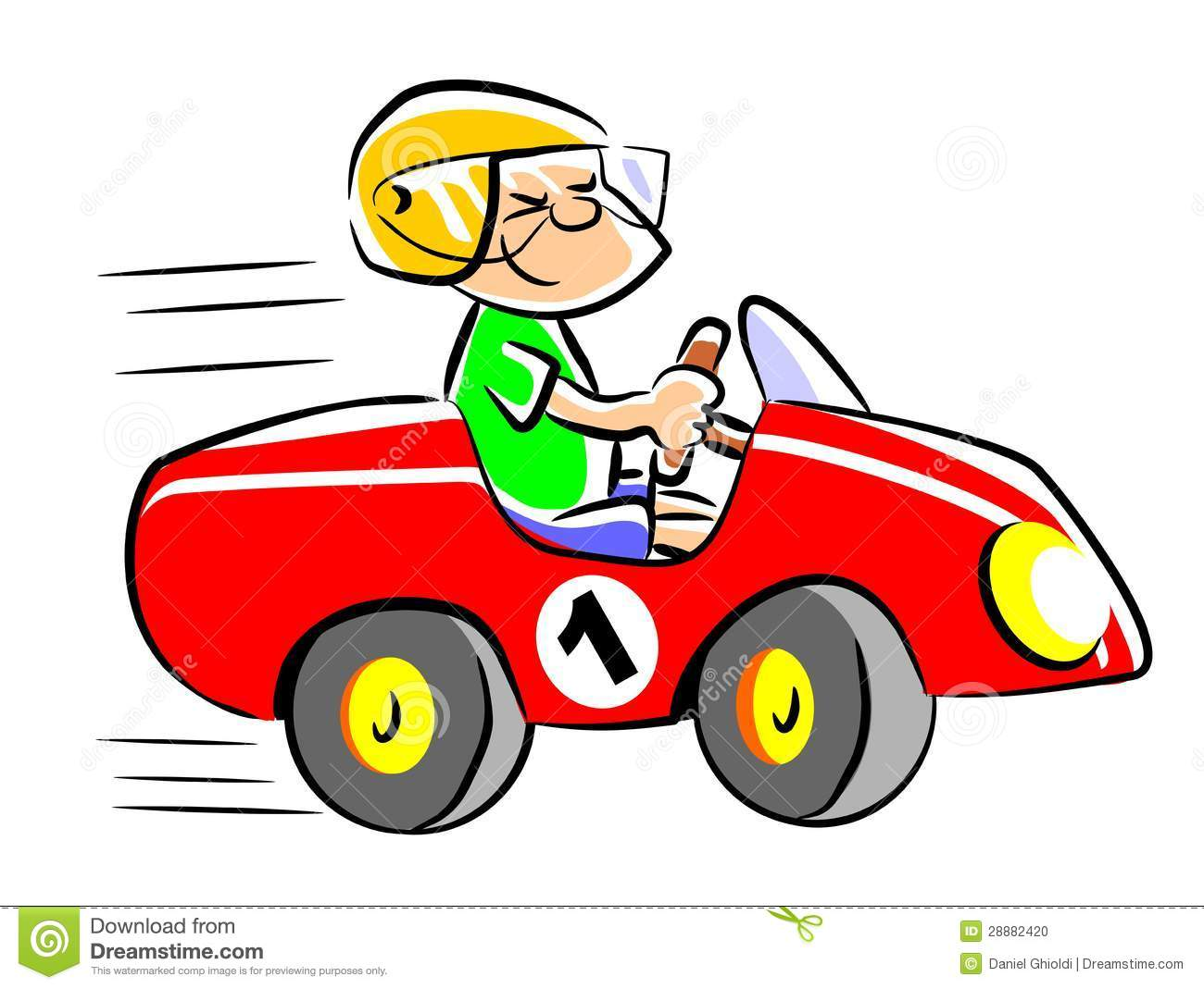 Red Race Car Clipart - Clipart Kid
