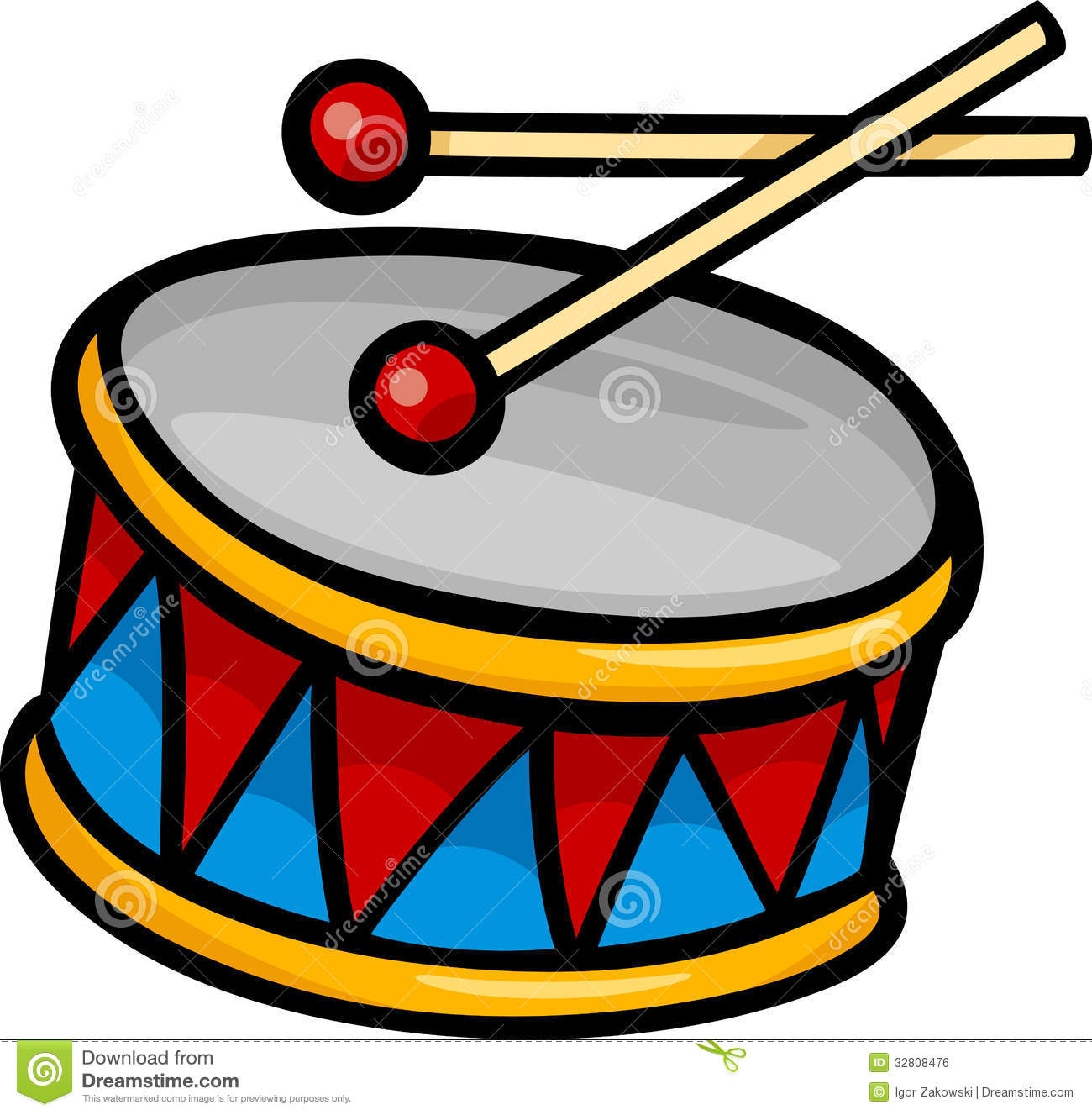 Snare Drum Clipart Black And White Drum Clip Art Drum Clip Art Cartoon