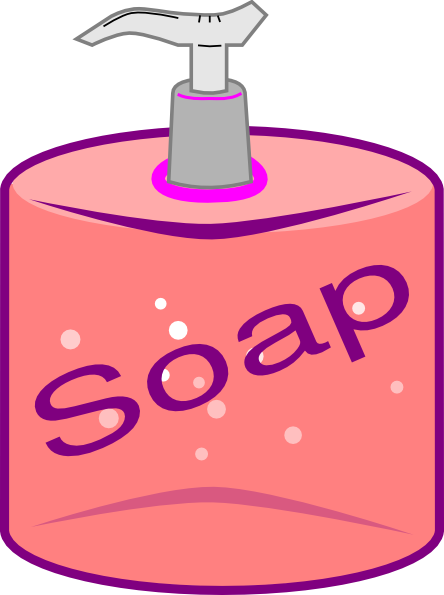 Soap Bottle Clip Art At Clker Com   Vector Clip Art Online Royalty