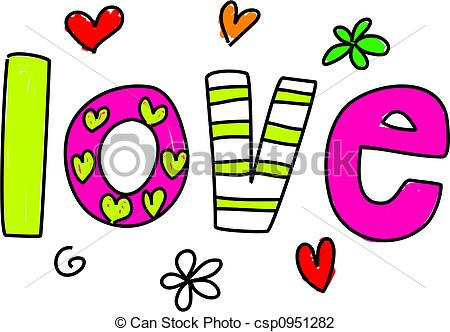 The Word Love Clipart   Clipart Panda   Free Clipart Images