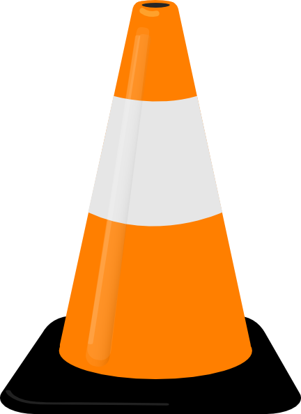 Traffic Cone Clip Art At Clker Com   Vector Clip Art Online Royalty