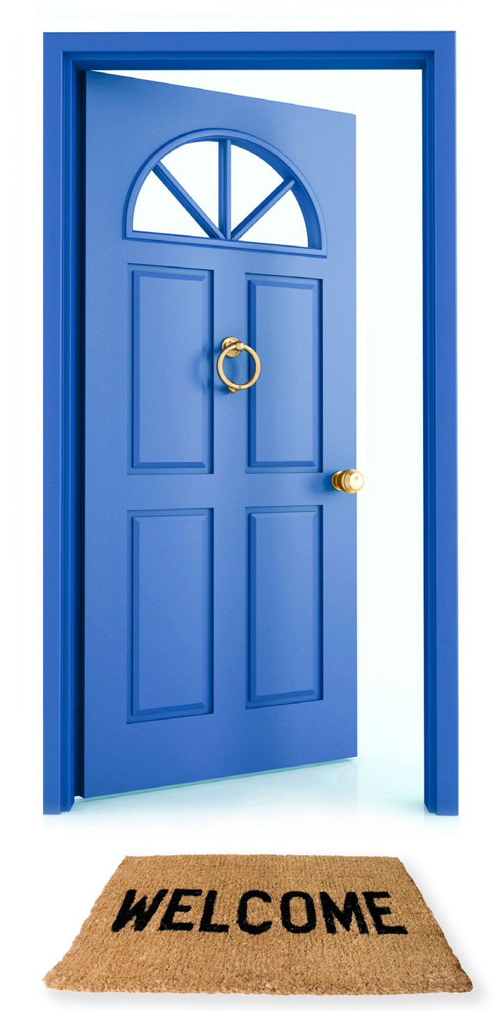 Open Door Free Clipart - Clipart Kid