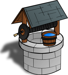 Wishing Well Clip Art At Clker Com   Vector Clip Art Online Royalty