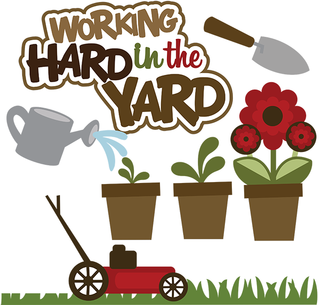 yard work clipart clipart suggest