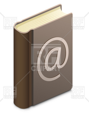 Address Book Download Royalty Free Vector Clipart  Eps