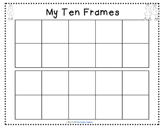 Blank Ten Frame Clipart Clipart Suggest