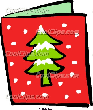 Christmas Card Clipart - Clipart Kid
