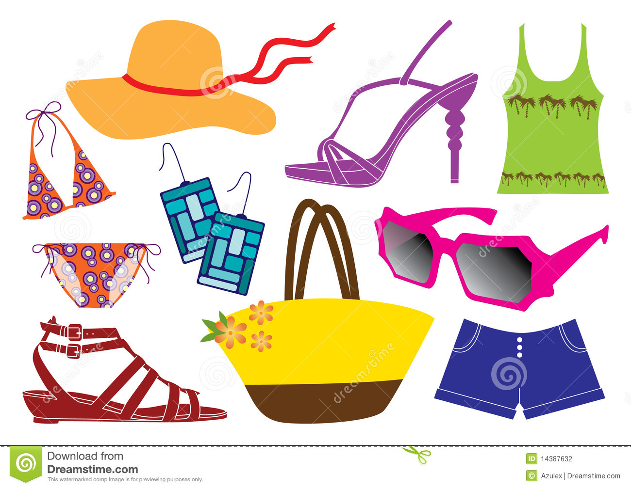 Spring Clothing Clipart - Clipart Suggest