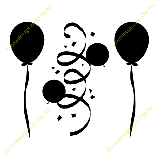 Confetti Clipart Black And White   Clipart Panda   Free Clipart Images