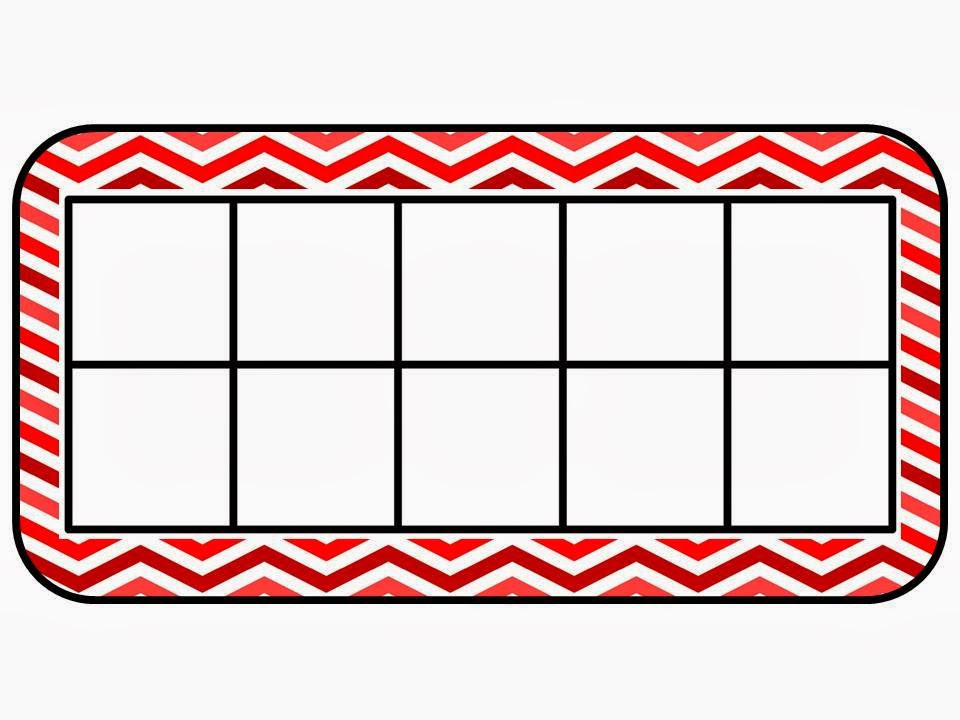 empty ten frame clip art 10 frame mat