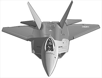 Free F 22 Raptor Bw Clipart   Free Clipart Graphics Images And Photos