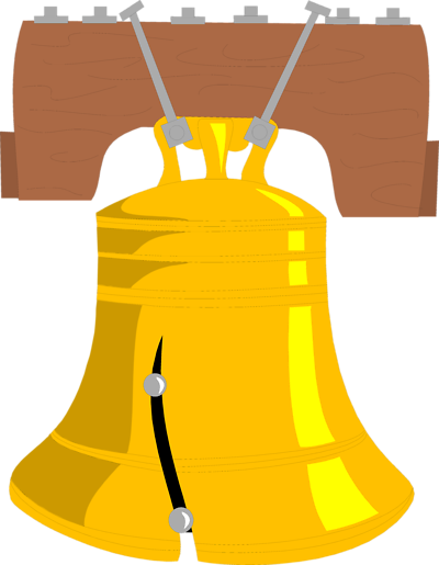 Liberty Bell Vector   Clipart Best