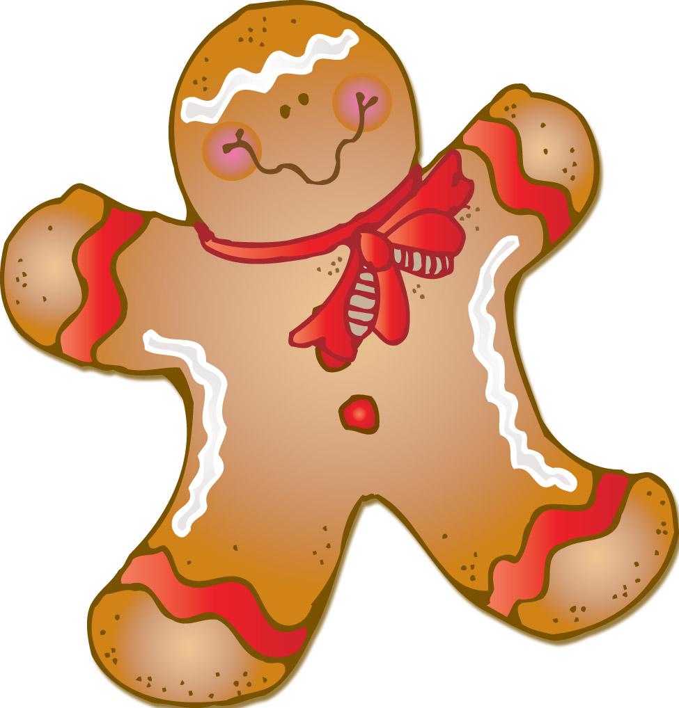 Soft Gingerbread Cookies Clip Art – Cliparts