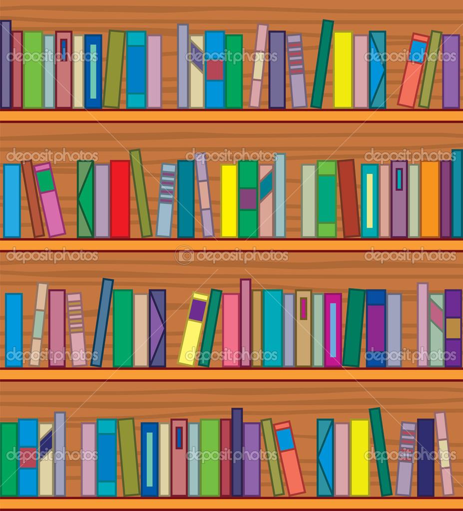 Bookshelf Books Clipart Clipart Suggest