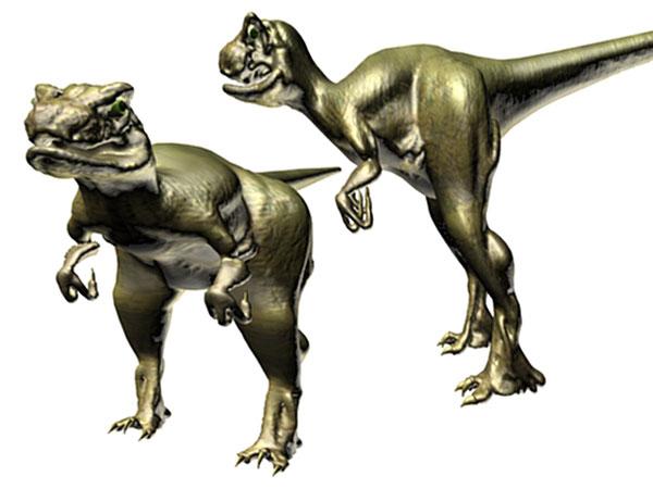 Raptor Dinosaur Clipart