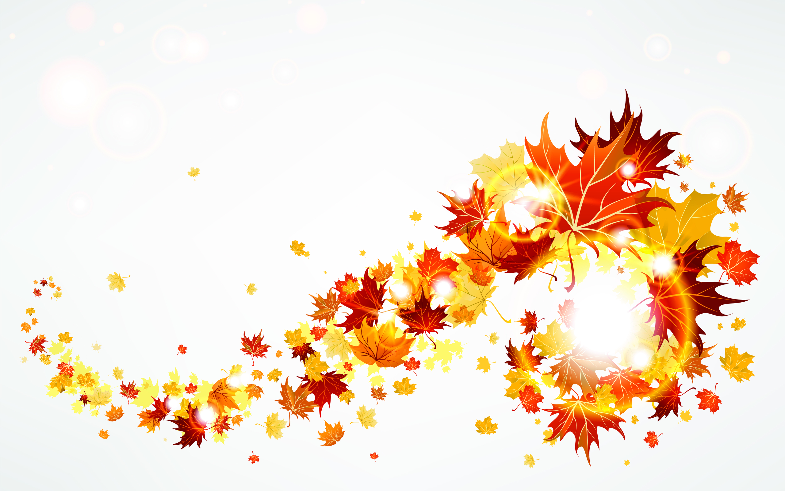 Autumn Leaves B... Free Clip Art Of Fall Flowers