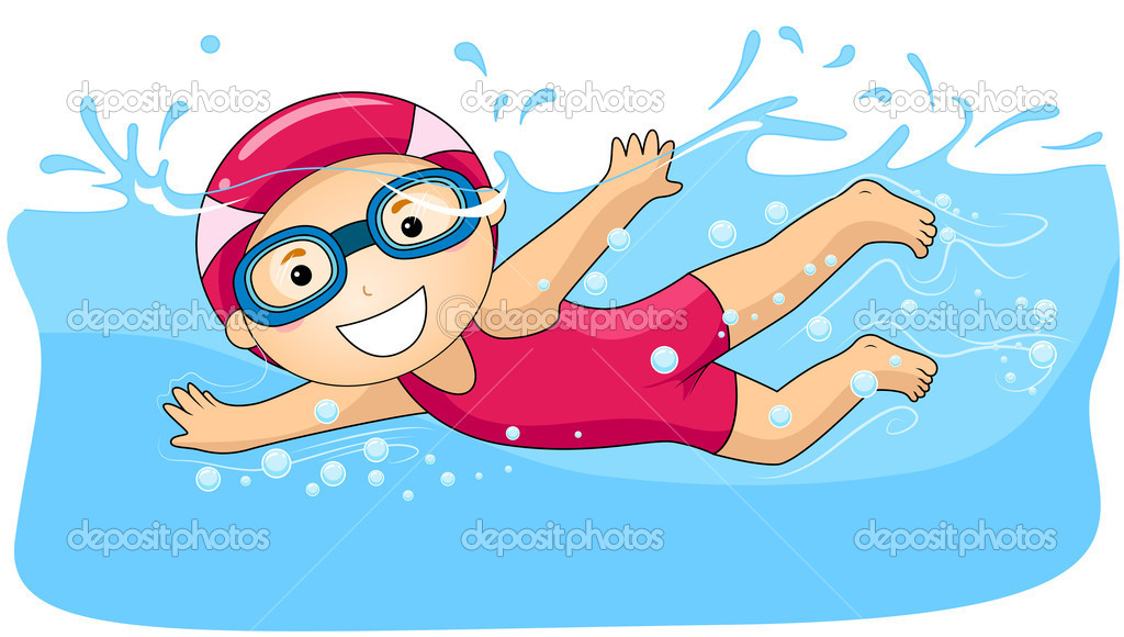 Swimming Pool Boy Clipart - Clipart Kid