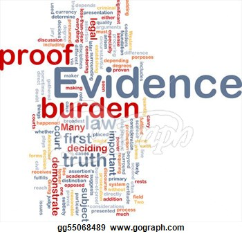 Clip Art   Background Concept Wordcloud Illustration Of Evidence Legal
