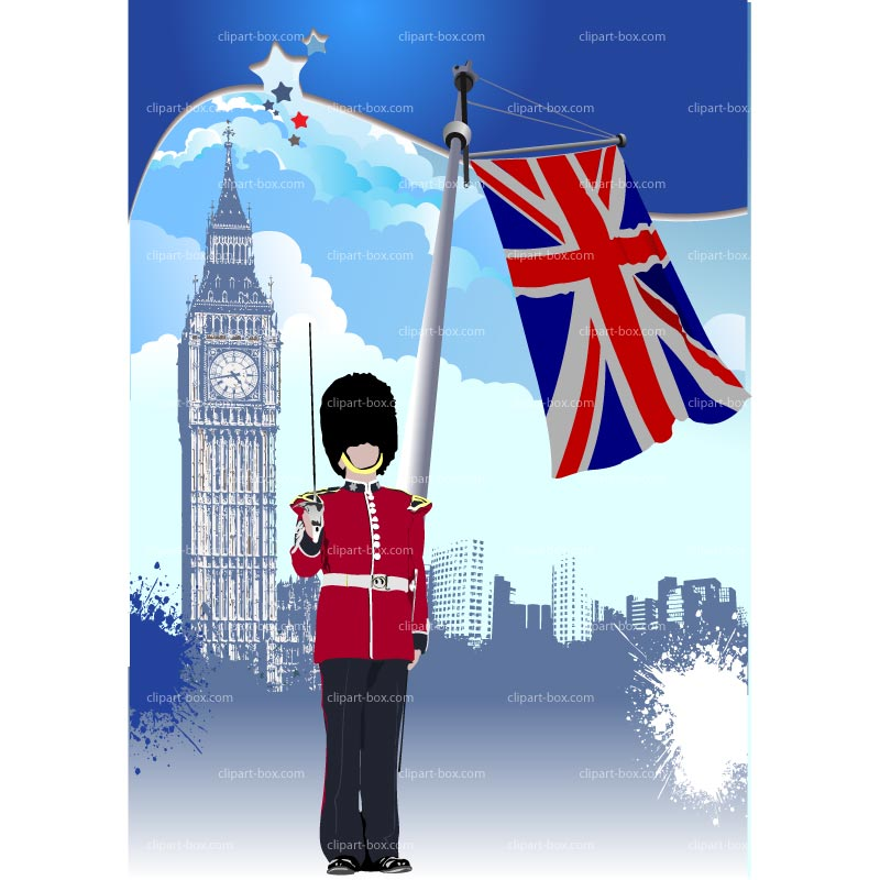 Clipart London Background   Royalty Free Vector Design
