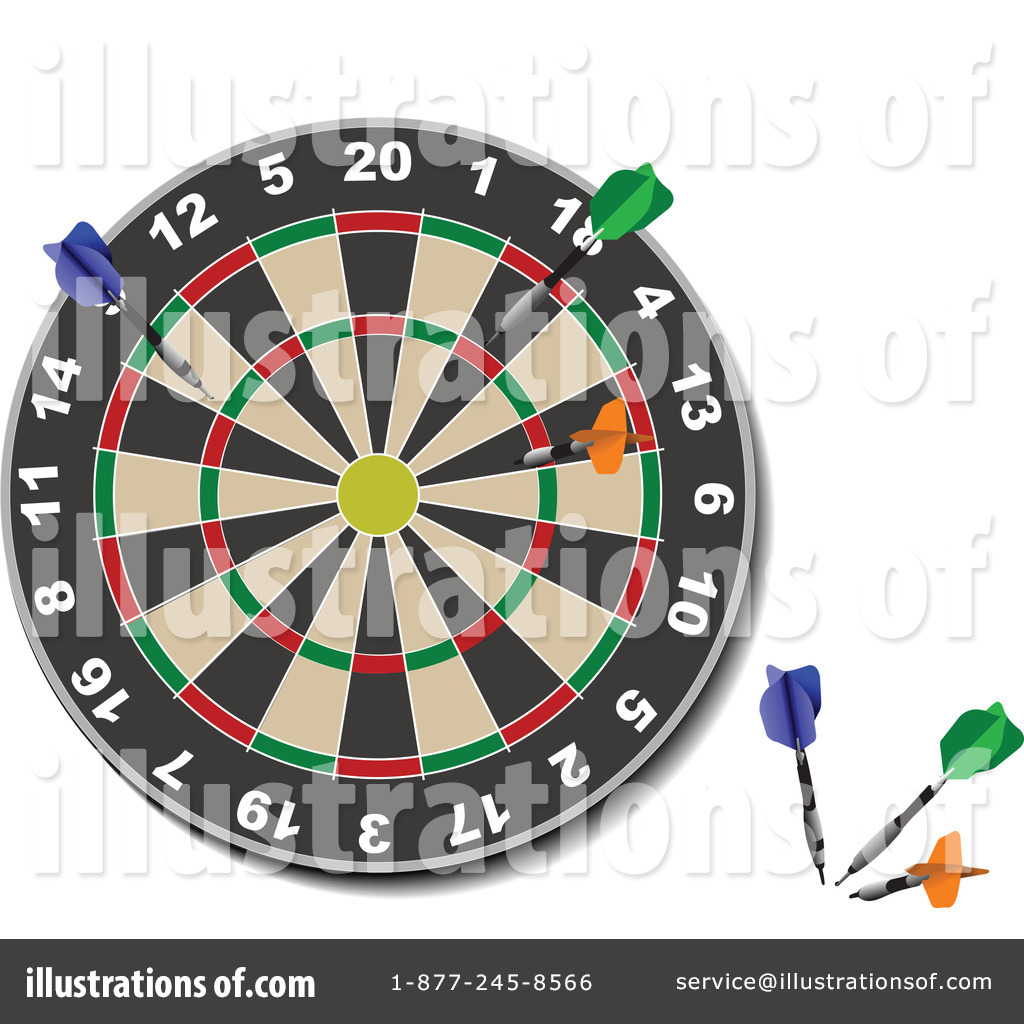 Darts Clipart Leonid Credited