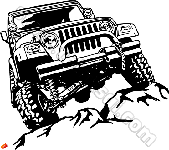 Jeep Off-road Clipart - Clipart Suggest