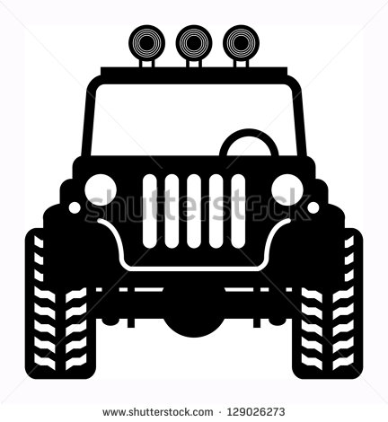 Jeep Off Road Silhouette Off Road Vehicle Vector