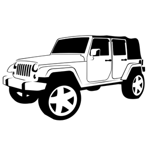 jeep logo clipart