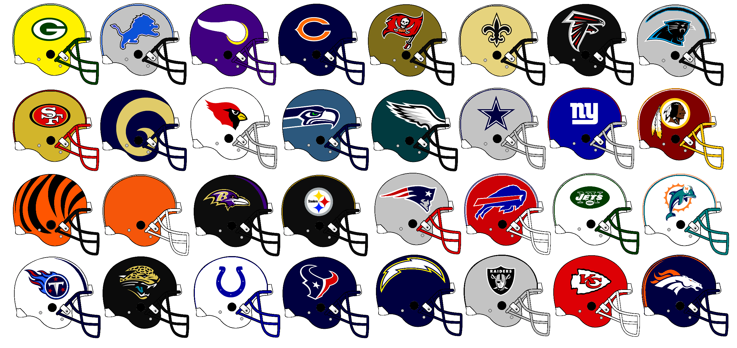 nfl football logos clipart clipart suggest