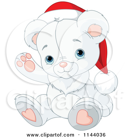 Royalty Free  Rf  Clipart Illustration Of A Cute Polar Bear Cub