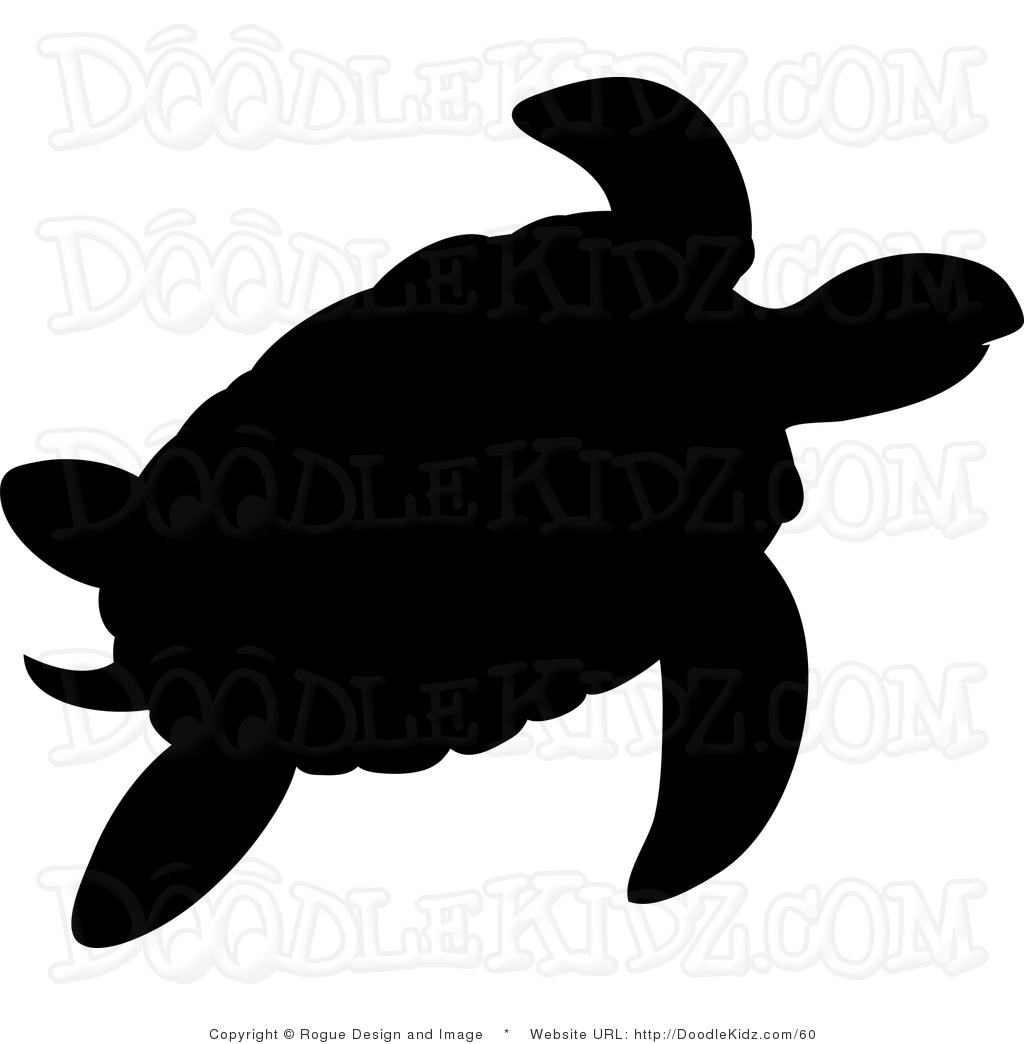 Sea Turtle Silhouette   Clipart Panda   Free Clipart Images