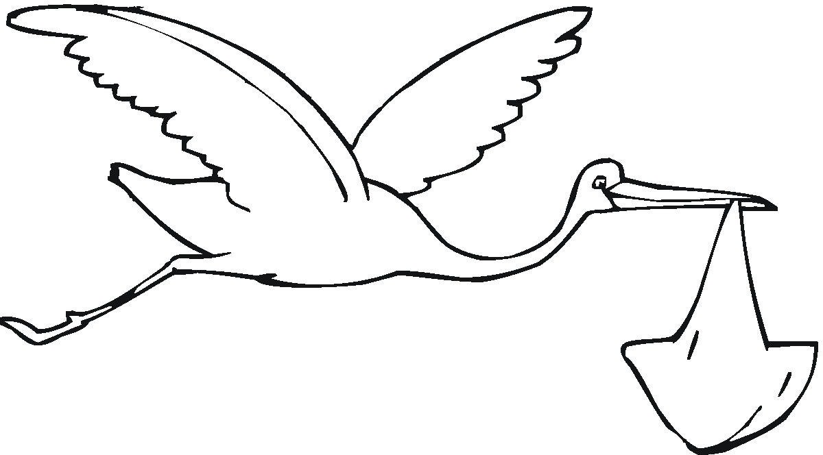 Stork Baby Clipart   Clipart Best