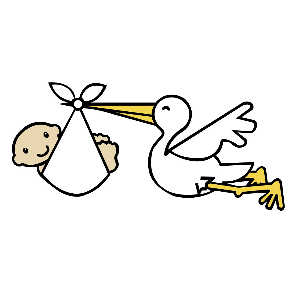 Svg File   Stork And Baby   Scal Mtc   Beaoriginal   Blog